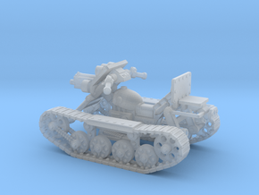 28mm SciFi Astro trackcycle  in Smooth Fine Detail Plastic