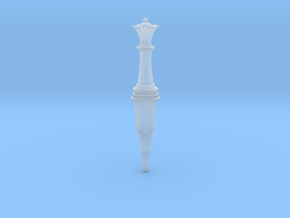 Resident Evil 2 Remake Queen Plug chess in Smooth Fine Detail Plastic