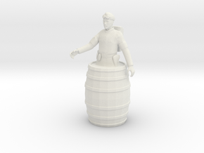 Printle C Homme 1478 - 1/24 - wob in White Natural Versatile Plastic