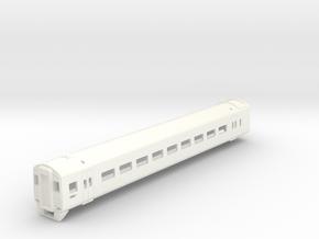 Class 158 DMU Driving Car in White Processed Versatile Plastic