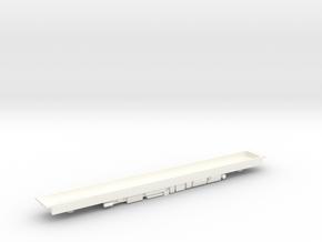 Class 158/159 DMU Floor in White Processed Versatile Plastic