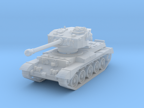 Comet Tank 1/220 in Smooth Fine Detail Plastic