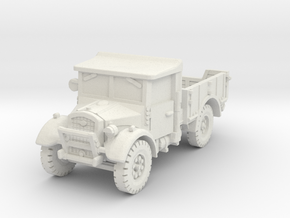 Fordson WOT-2F (open) 1/76 in White Natural Versatile Plastic