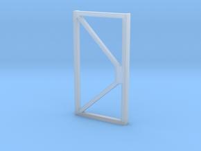 Eingangstür Front door 1/87 1:87 H0 in Smooth Fine Detail Plastic