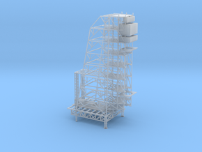 1/1000 Scale Apollo Arming Tower in Smooth Fine Detail Plastic
