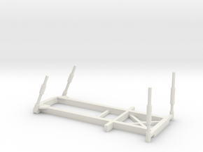 1/100 Scale Army BEB Frame in White Natural Versatile Plastic