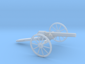 1/72 Scale American Civil War Cannon 10-Pounder in Smooth Fine Detail Plastic