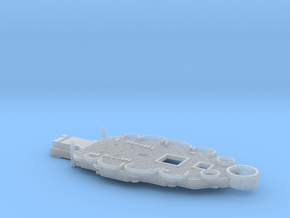 1/700 USS Nevada (1941) Casemate Deck w/out 5''/51 in Smooth Fine Detail Plastic