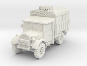 Fordson WOT-2D Radio 1/72 in White Natural Versatile Plastic
