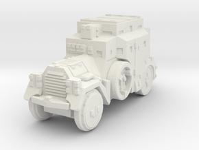 Daimler Sdkfz-3 1/72 in White Natural Versatile Plastic