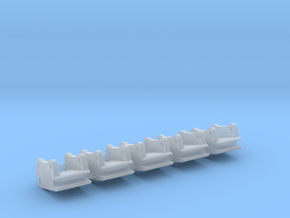 Schnellwechsler QC8 / quick coupler 8,0mm in Smooth Fine Detail Plastic: 1:50