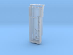 1/87 HO Tiefbaumulde 27t, 6,5m mit Hubzylinder in Smooth Fine Detail Plastic