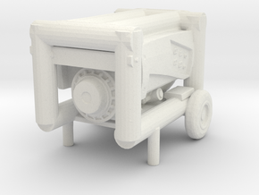 Portable Generator 1/24 in White Natural Versatile Plastic