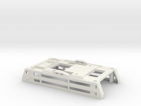 5th wheel Sattelplatte lift plate for Tamiya 1/14  in White Natural Versatile Plastic
