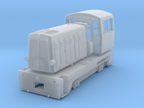 T211.0 (BN150) czech light diesel shunter from ČKD in Smooth Fine Detail Plastic