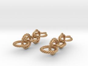Audra Earrings in Natural Bronze (Interlocking Parts)