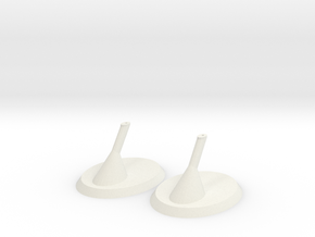Ship Stand in White Natural Versatile Plastic