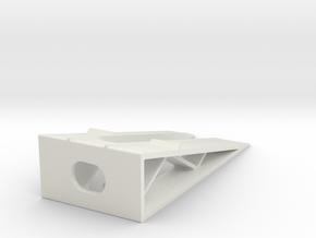 Car Display Ramp 1/48 in White Natural Versatile Plastic