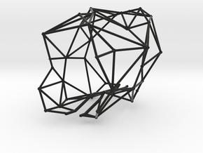 Glacierfire_fine mesh cut for Priyesh in Black Natural Versatile Plastic