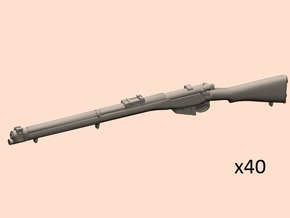 1/35 S.M.L.E. No.1 Mk.III rifle in Smoothest Fine Detail Plastic