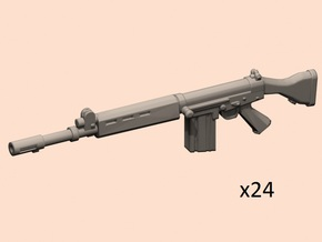 1/35 FN FAL rifles in Smoothest Fine Detail Plastic