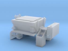 1/64th PB Patcher Asphalt repair truck body in Smooth Fine Detail Plastic