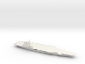 1/1800Scale Chinese Aircraft Carrier Shandong in White Natural Versatile Plastic