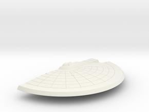 1/1400 Spokane Class Left Saucer in White Natural Versatile Plastic