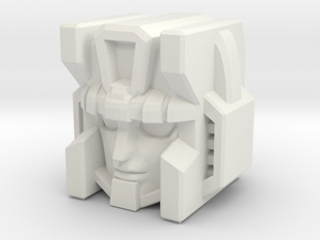 Thunderclash Head for Combiner Wars Optimus in White Natural Versatile Plastic