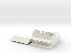 CBR Section Foreman House - Nscale in White Natural Versatile Plastic