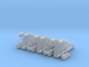 6mm Enforcer Droid Tanks (3) in Smooth Fine Detail Plastic
