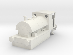 b-100-guinness-hudswell-clarke-steam-loco in White Natural Versatile Plastic