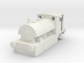 b-97-guinness-hudswell-clarke-steam-loco in White Natural Versatile Plastic