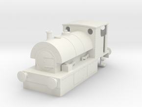 b-76-guinness-hudswell-clarke-steam-loco in White Natural Versatile Plastic
