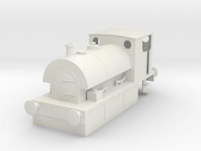 b-32-guinness-hudswell-clarke-steam-loco in White Natural Versatile Plastic