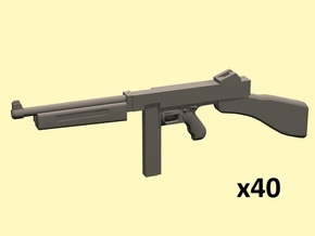 1/35 Thompson M1 in Smoothest Fine Detail Plastic