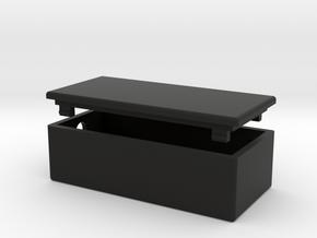 Nano-BLE-Simple-Case in Black Natural Versatile Plastic