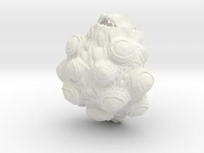 Ika in White Natural Versatile Plastic