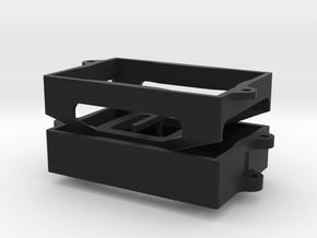 Mount for Castle Mamba X ESC in Black Natural Versatile Plastic