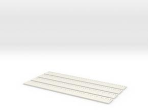 Bretterwand Boardswall 4 x 15 (4 x) in White Natural Versatile Plastic