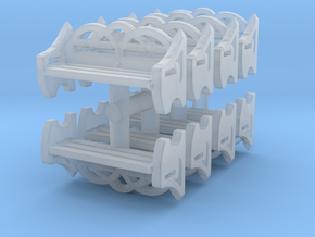 Park Bench (x8) 1/120 in Smooth Fine Detail Plastic