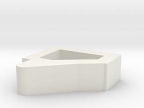Tokyo Marui m870 trigger mod in White Natural Versatile Plastic