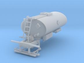 1/50th Asphalt Tank Sprayer body 2500 Gallon in Smooth Fine Detail Plastic