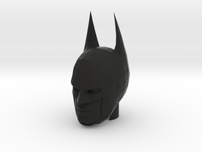 Batman Head in Black Natural Versatile Plastic