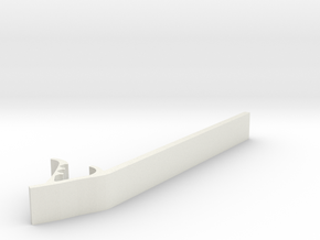 "Drum Tool - 1"" wide in White Natural Versatile Plastic"
