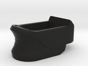 we bulldog px4 long mag adapter in Black Natural Versatile Plastic