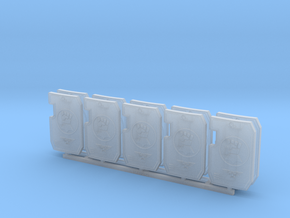 Praetorians of Terra Primaris Boarding Shield  x10 in Smoothest Fine Detail Plastic