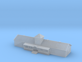 1:700 Scale Russian Airfield Building in Smoothest Fine Detail Plastic