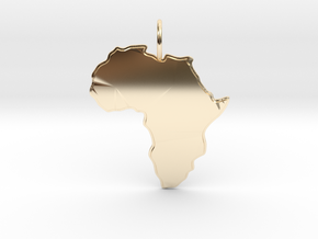 AFRICA in 14K Yellow Gold