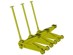 1/32 scale hydraulic car jacks x 3 in Smoothest Fine Detail Plastic